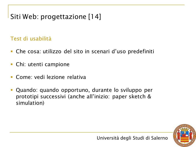 Siti Web: progettazione [14]